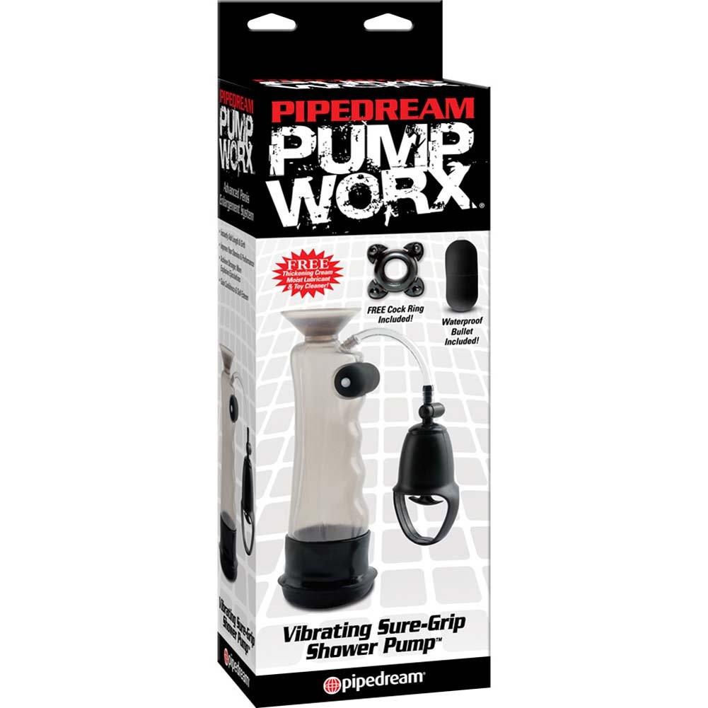 Pump Worx Vibrating Sure Grip Shower Pump Black - View #4