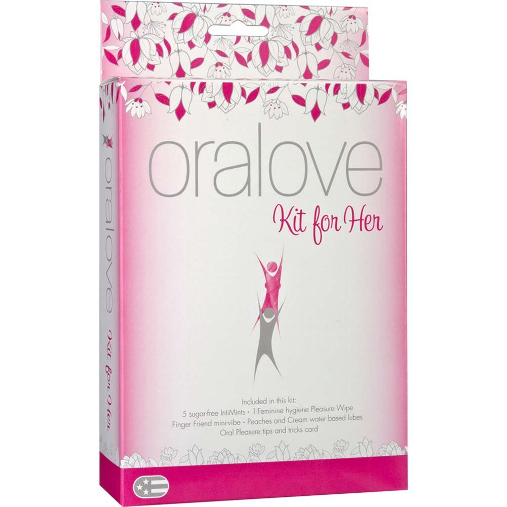 Oralove Kit for Her with Vibe and Lubricants - View #1