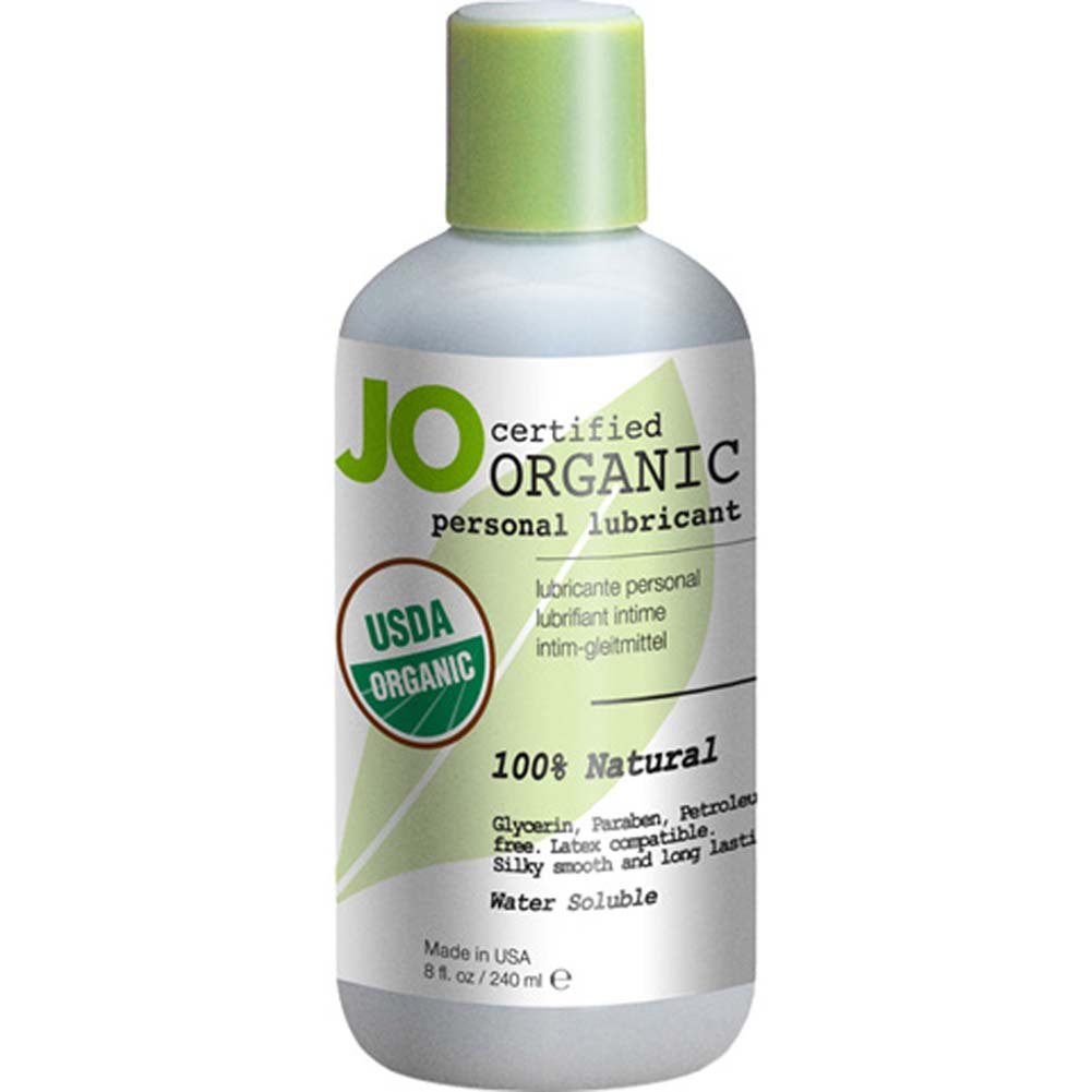 JO USDA Certified Organic Water Based Personal Lube 8 Fl. Oz. - View #1