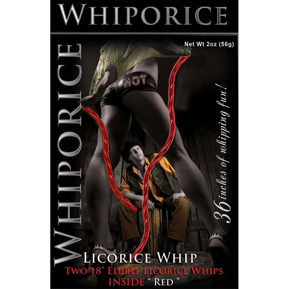 Whiporice Licorice Whip Red - View #2