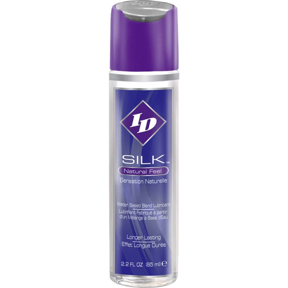 ID Silk Natural Feel Water-Based Premium Personal Lubricant 2.2 Fl. Oz. - View #1