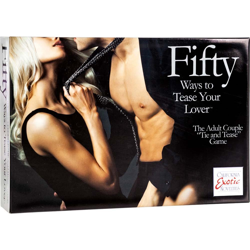 California Exotics Fifty Ways To Tease Your Lover Game - View #2