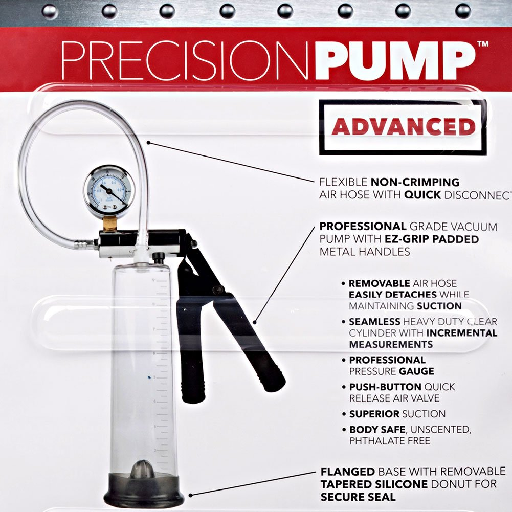 CalExotics Precision Pump Advanced 2 Penis Pump Clear - View #1