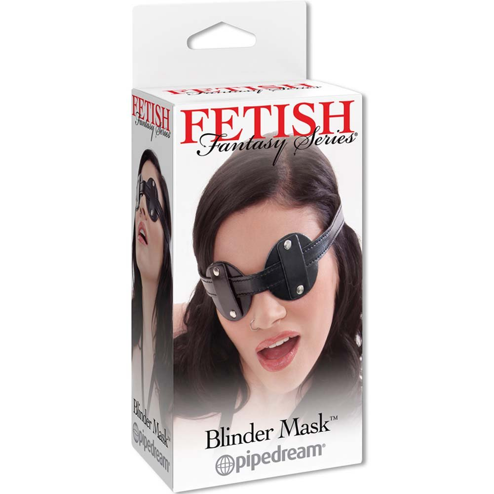 Fetish Fantasy Series Blinder Mask Black - View #4