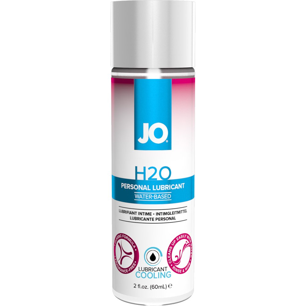 JO for Woman H2O Cool Water Based Lube 2 Fl. Oz. - View #1