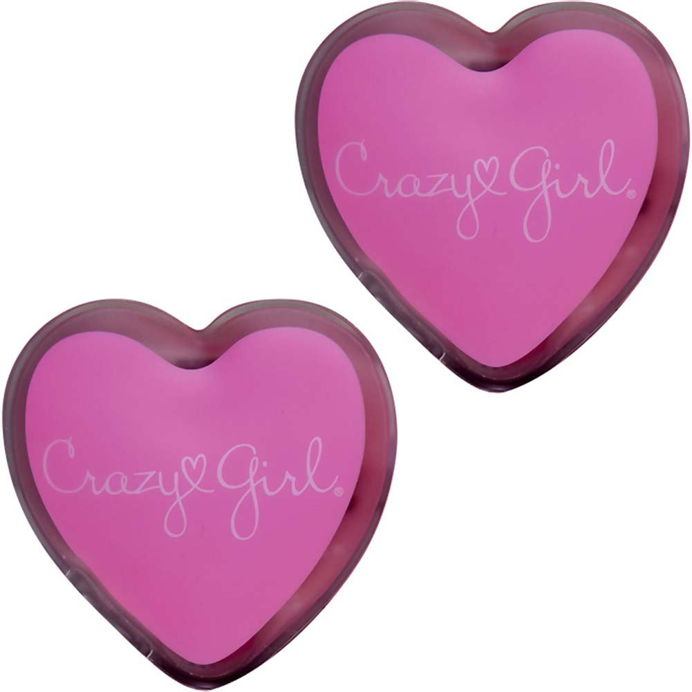 Crazy Girl Wanna Be Pampered Mini Warming Hearts Body Massagers Pink - View #2