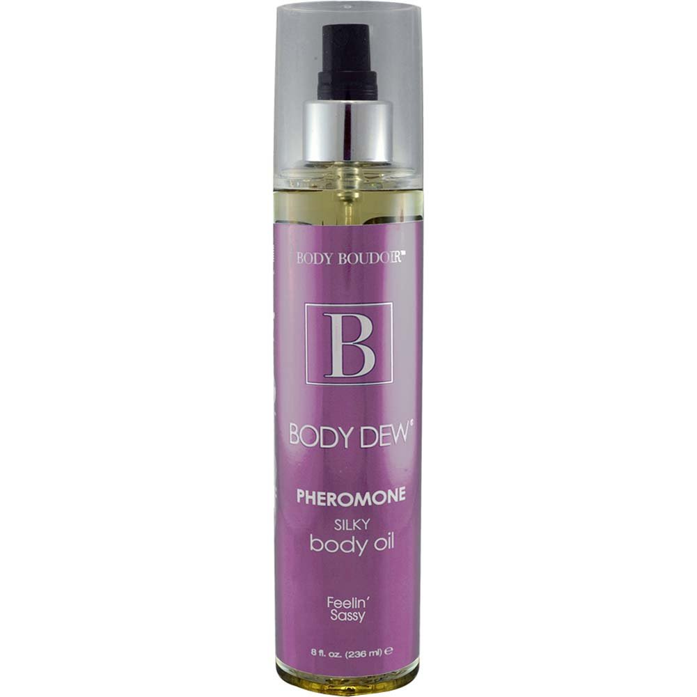 Body Dew Pheromone Silky Body Oil Feelin Sassy 8 Fl. Oz. - View #1