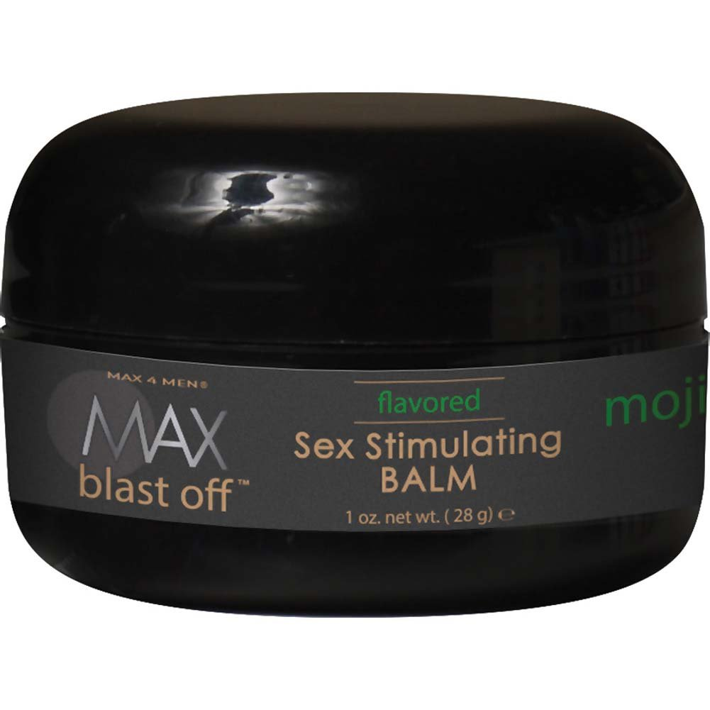 Max 4 Men Max Blast Off Flavored Sex Stimulating Balm 1 Oz. - View #1