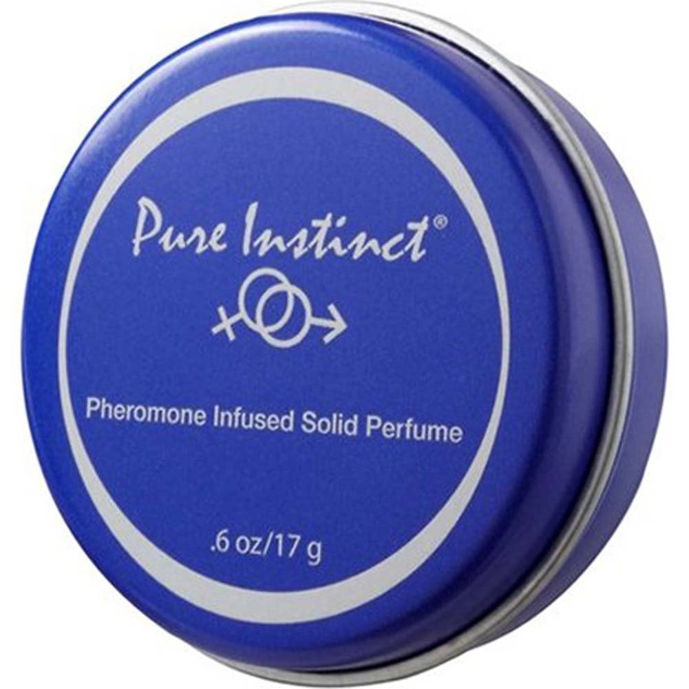 Pure Instinct Pheromone Infused Solid Perfume 0.6 Oz 15 G Travel Tin - View #1