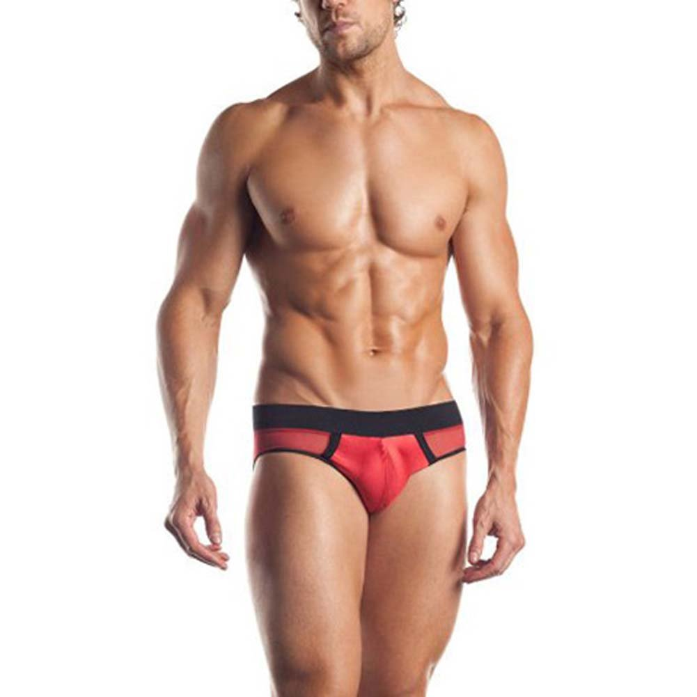 Excite Extreme Series Mesh Brief With Contrasting Colors - View #1