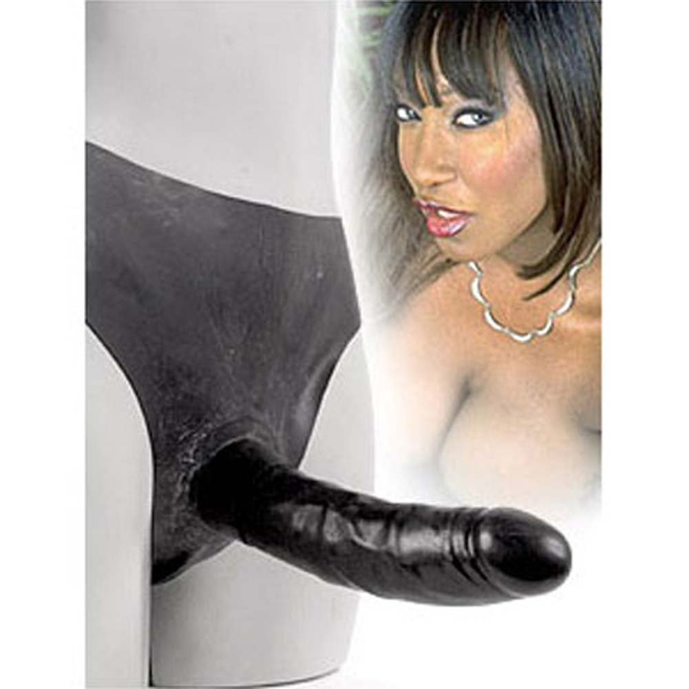"Slip On Tool Latex Dong 7"" Ebony - View #2"