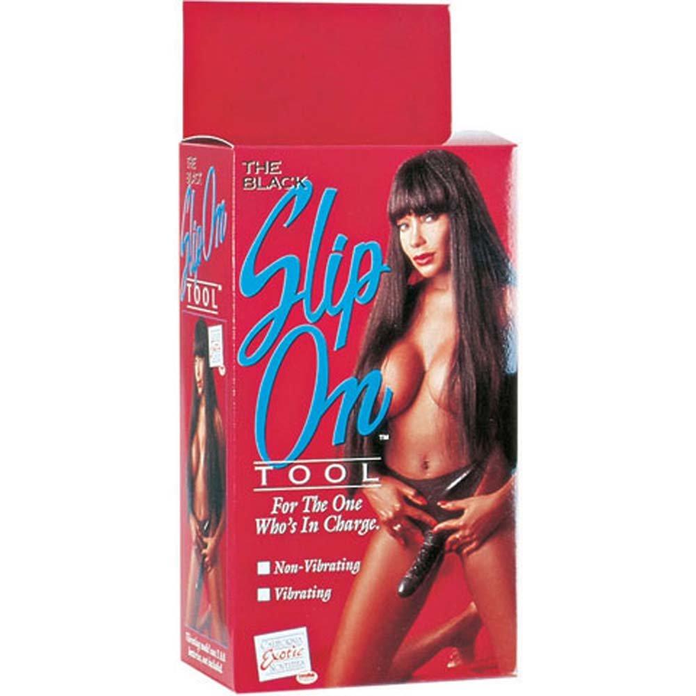 "Slip On Tool Latex Dong 7"" Ebony - View #4"