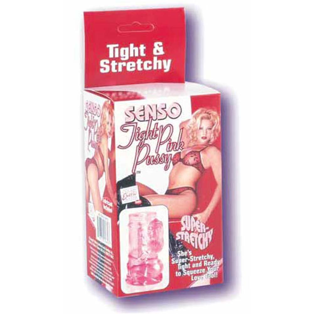 Senso Tight Pink Pussy Masturbator 5 In. - View #1