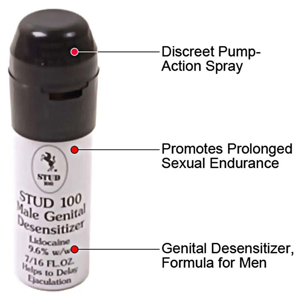 Stud 100 Male Genital Desensitizer Spray 0.44 Fl.Oz 13 mL - View #1