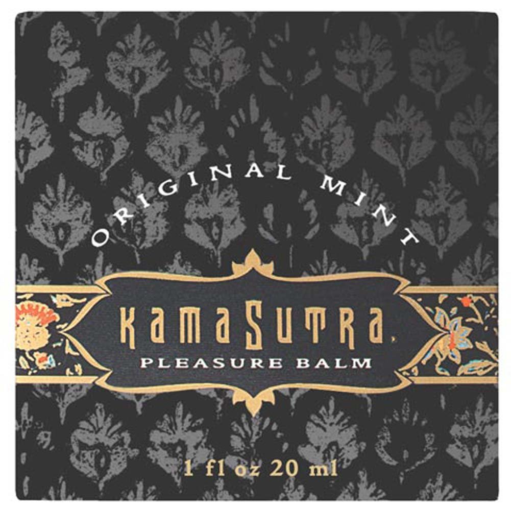 Kama Sutra Pleasure Balm Original Mint 1 Fl. Oz. - View #2