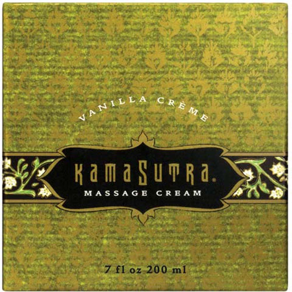 Kama Sutra Massage Cream Vanilla Creme 7 Oz. - View #1