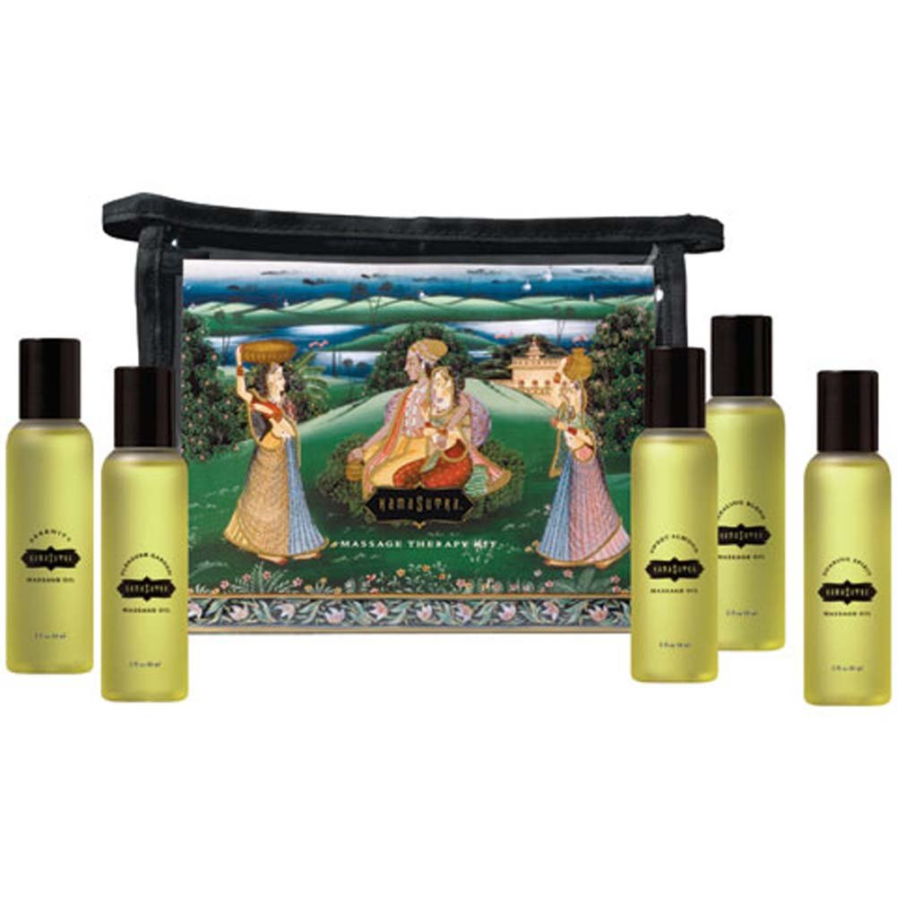 Kama Sutra Aroma Massage Tranquility Kit 5 Bottles 2 Fl. Oz. Each - View #2