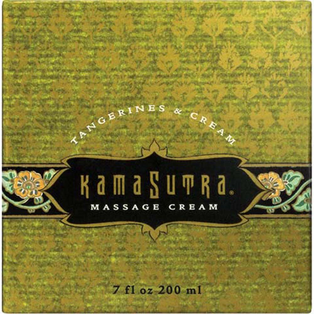 Kama Sutra Massage Cream Tangerines and Cream 7 Oz. - View #1