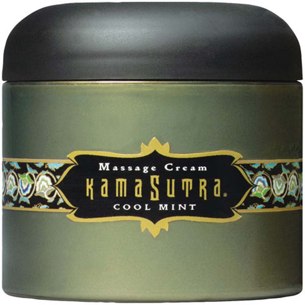 Kama Sutra Massage Cream Cool Mint 7 Oz. - View #2