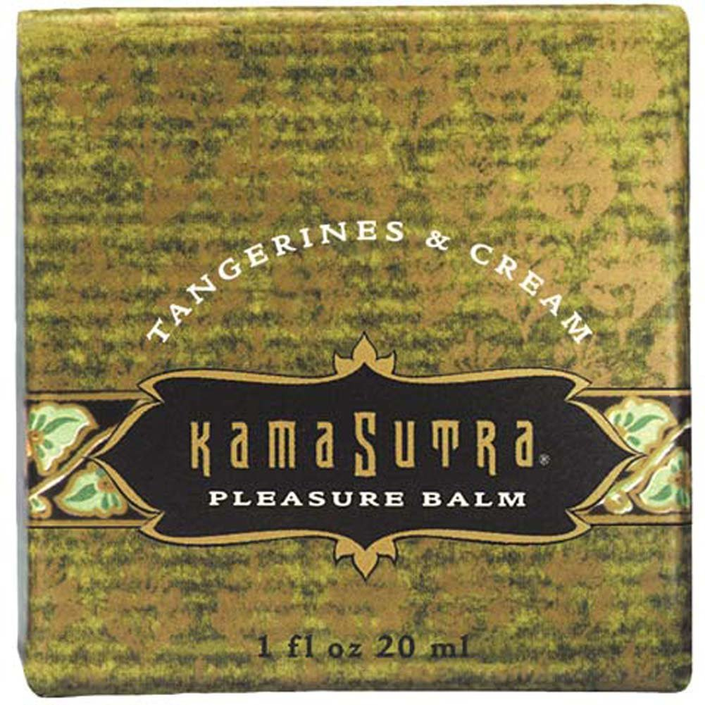 Kama Sutra Pleasure Balm Tangerines and Cream 1 Fl. Oz. - View #1