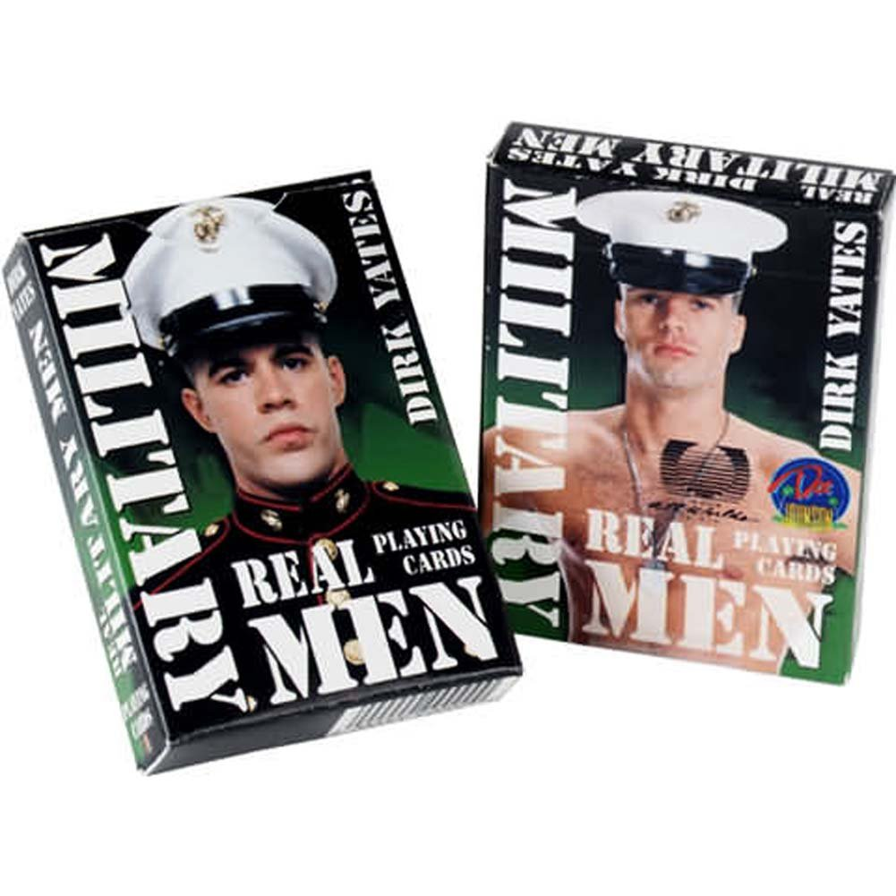 Military Men Playing Cards - View #1