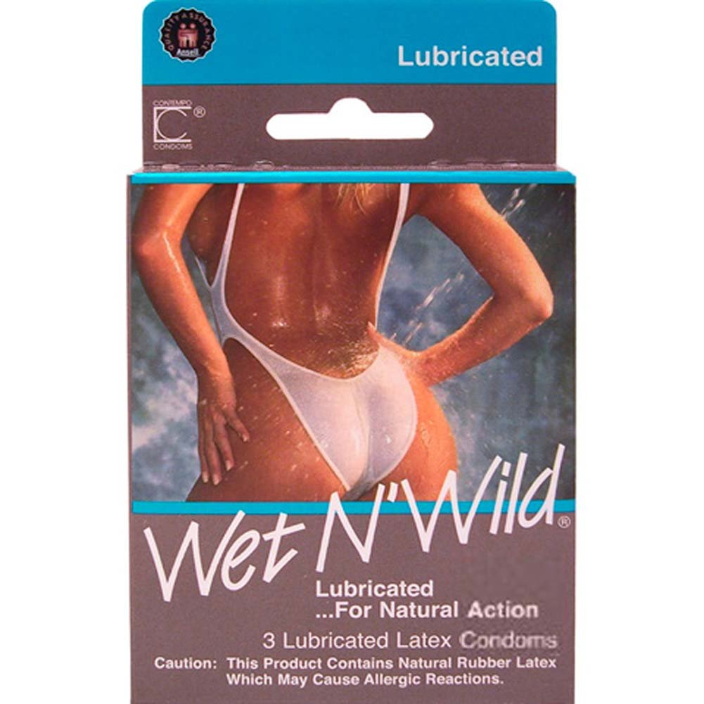 Wet N Wild Condoms 3 Pack - View #1