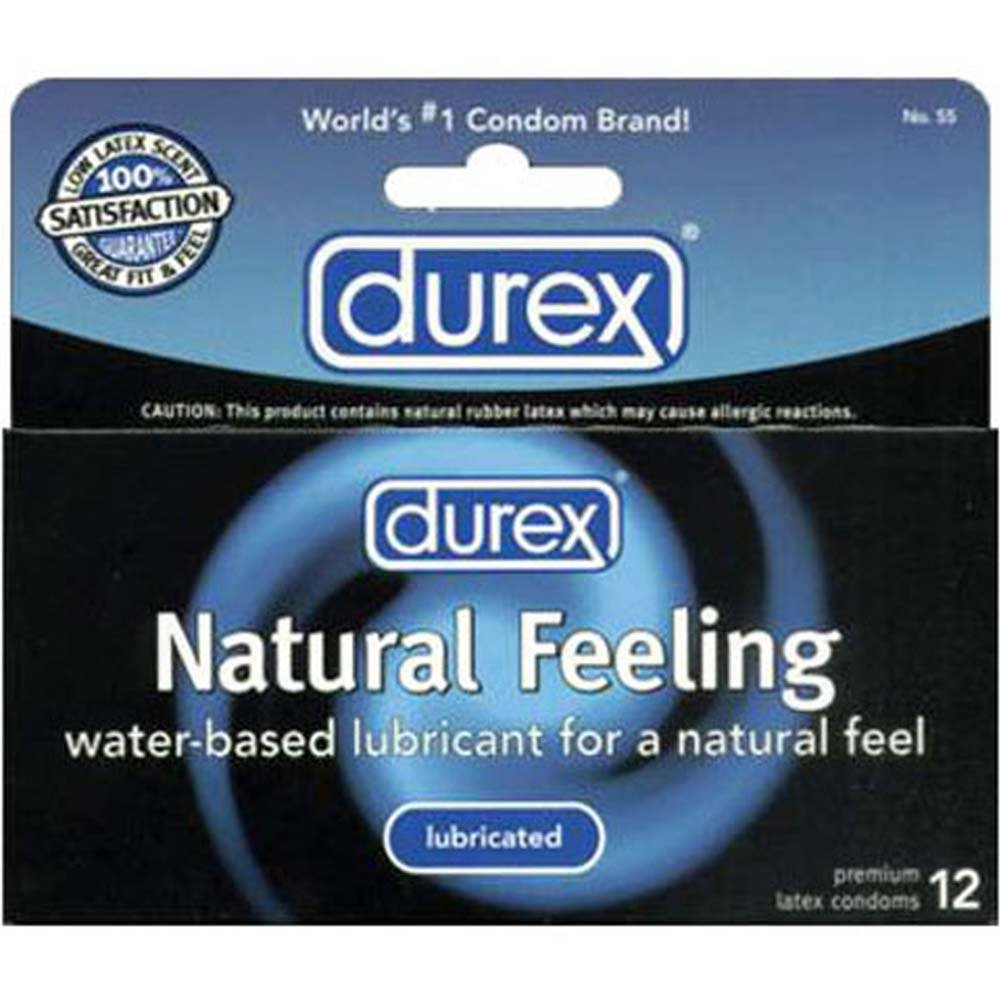 Durex Natural Feeling Lubricated 12 Condoms Pack - View #1