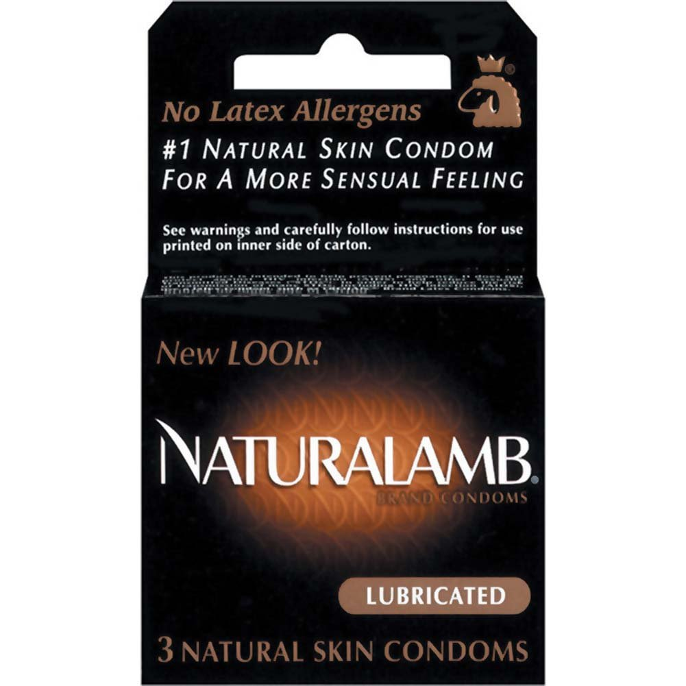 Trojan NaturaLamb Luxury Latex Free Condoms 3 Pack - View #1