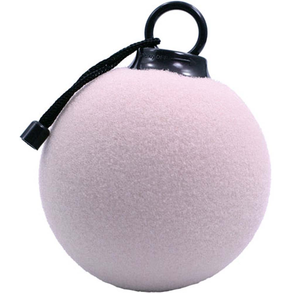 "Pulsa Bath Waterproof Vibrating Sponge Ball 5"" Lavender - View #1"