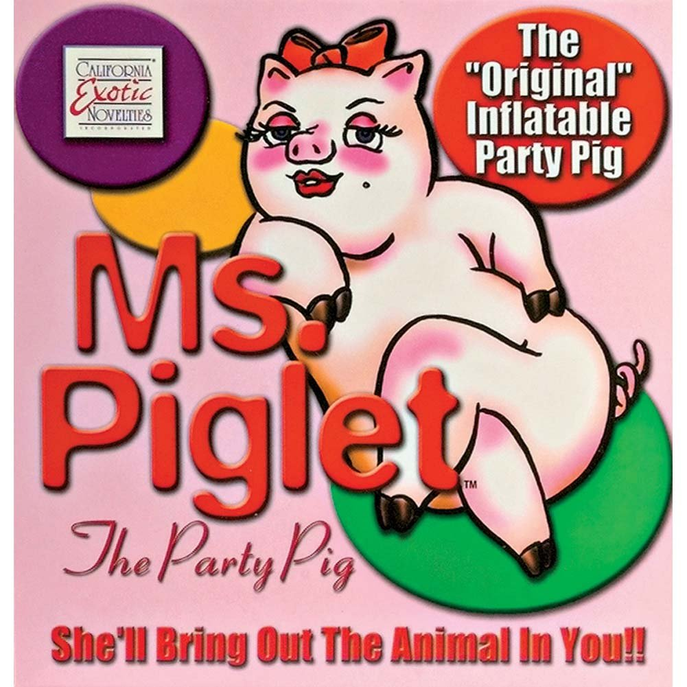 Ms Piglet Party Pig - View #1