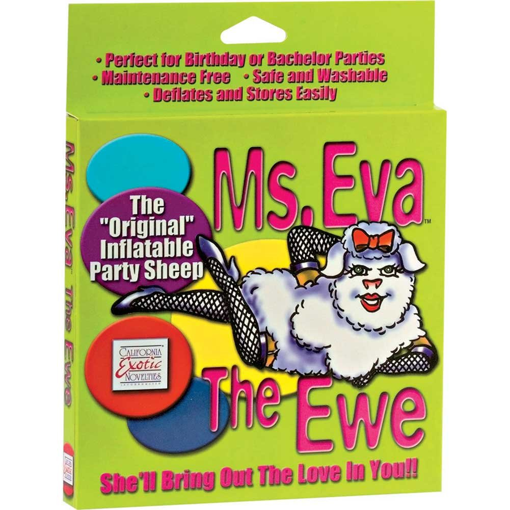 Eva the Ewe Inflatable Party Sheep Love Doll by CalExotics - View #2