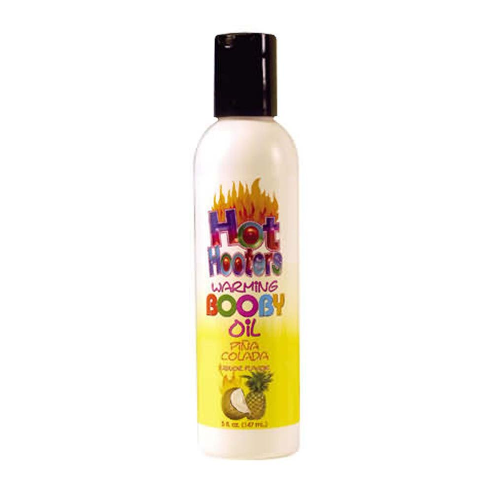 Hot Hooters Warming Booby Oil Pina Colada 5 Fl. Oz. - View #2