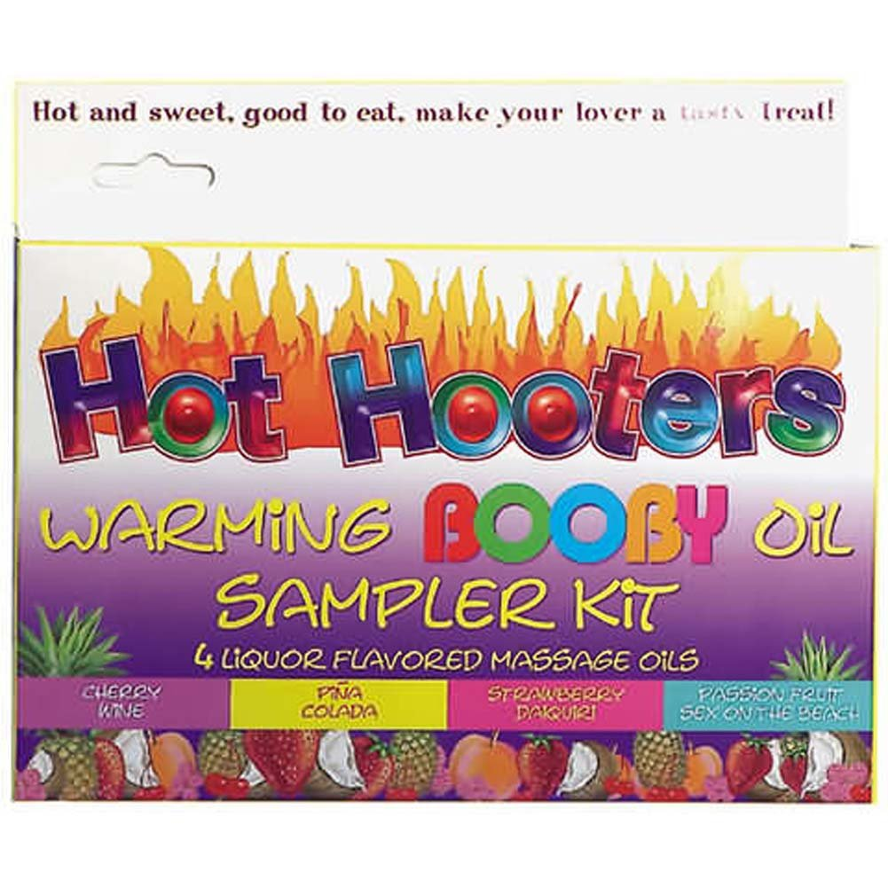Hot Hooters Warming Body Oil Sampler - View #2