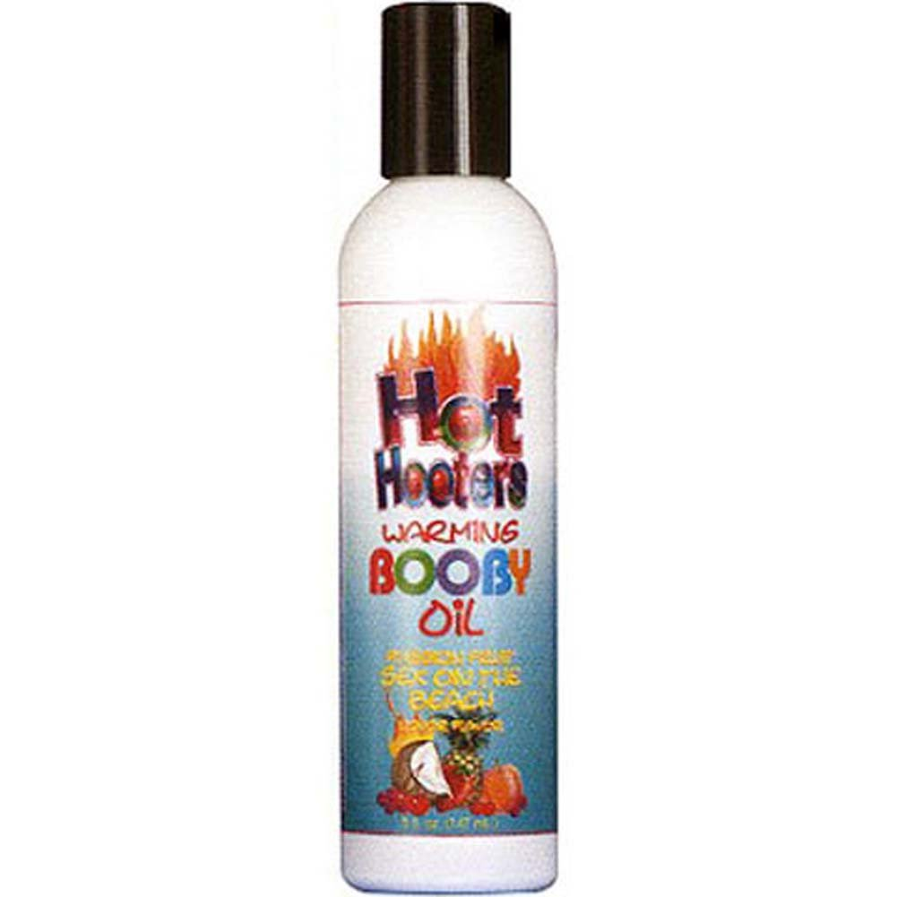 Hot Hooters Warming Booby Oil Passion Fruit 5 Fl. Oz. - View #1