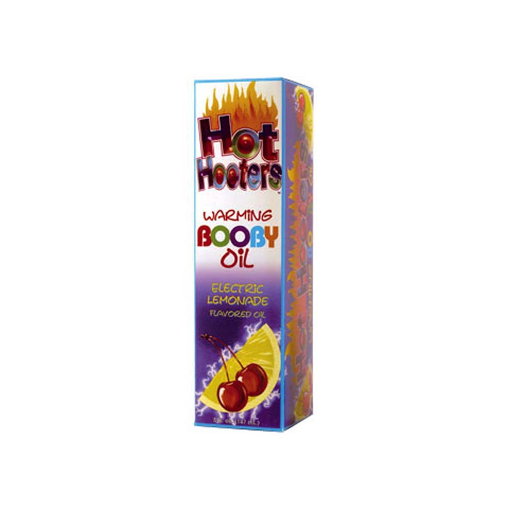Hot Hooters Warming Booby Oil Electric Limonade 5 Oz. - View #1