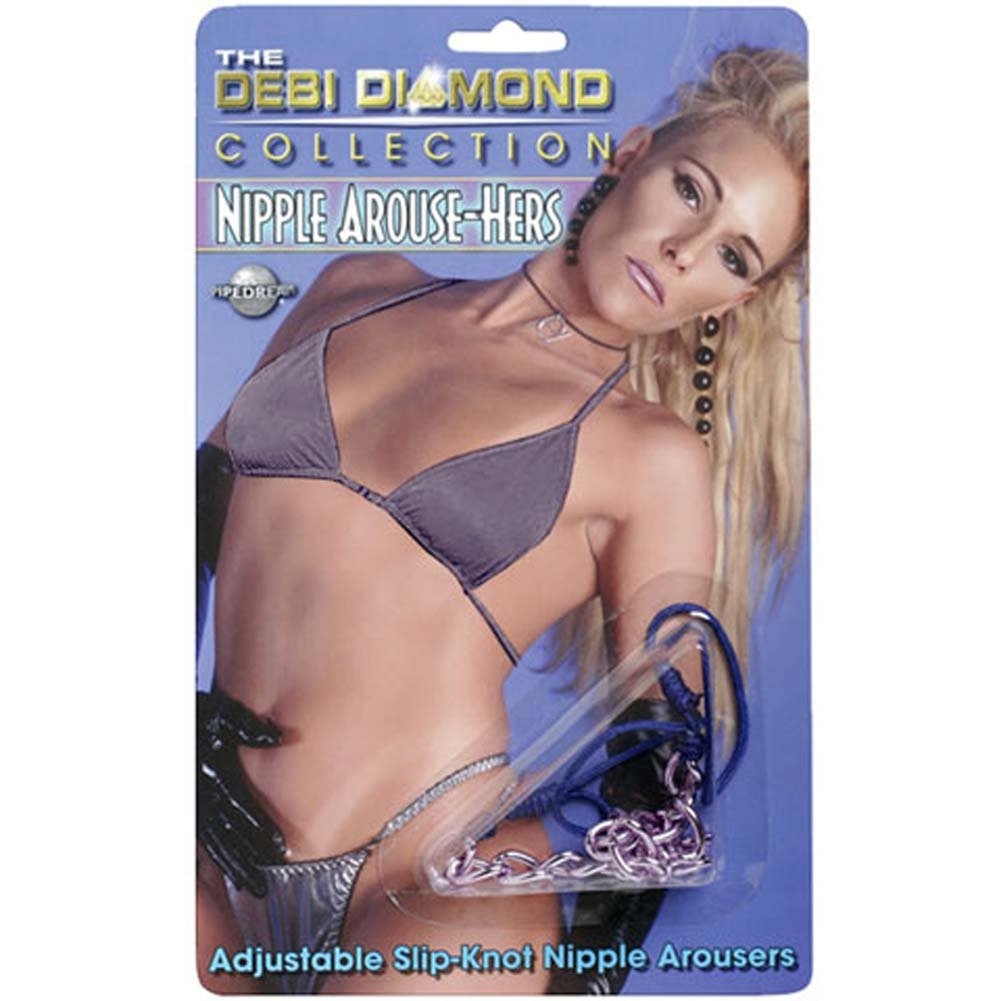 Debi Diamond Nipple Arouse Hers Black - View #1