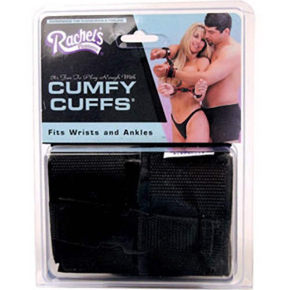 Rachel Pleasures Cumfy Cuffs Black - View #3