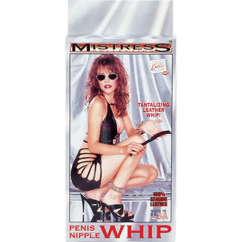 Mistress Collection Penis Nipple Whip - View #1