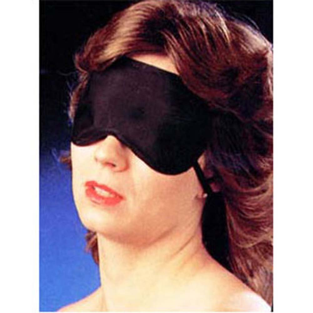 CathyS Fantasy Blindfold One Size Black - View #2