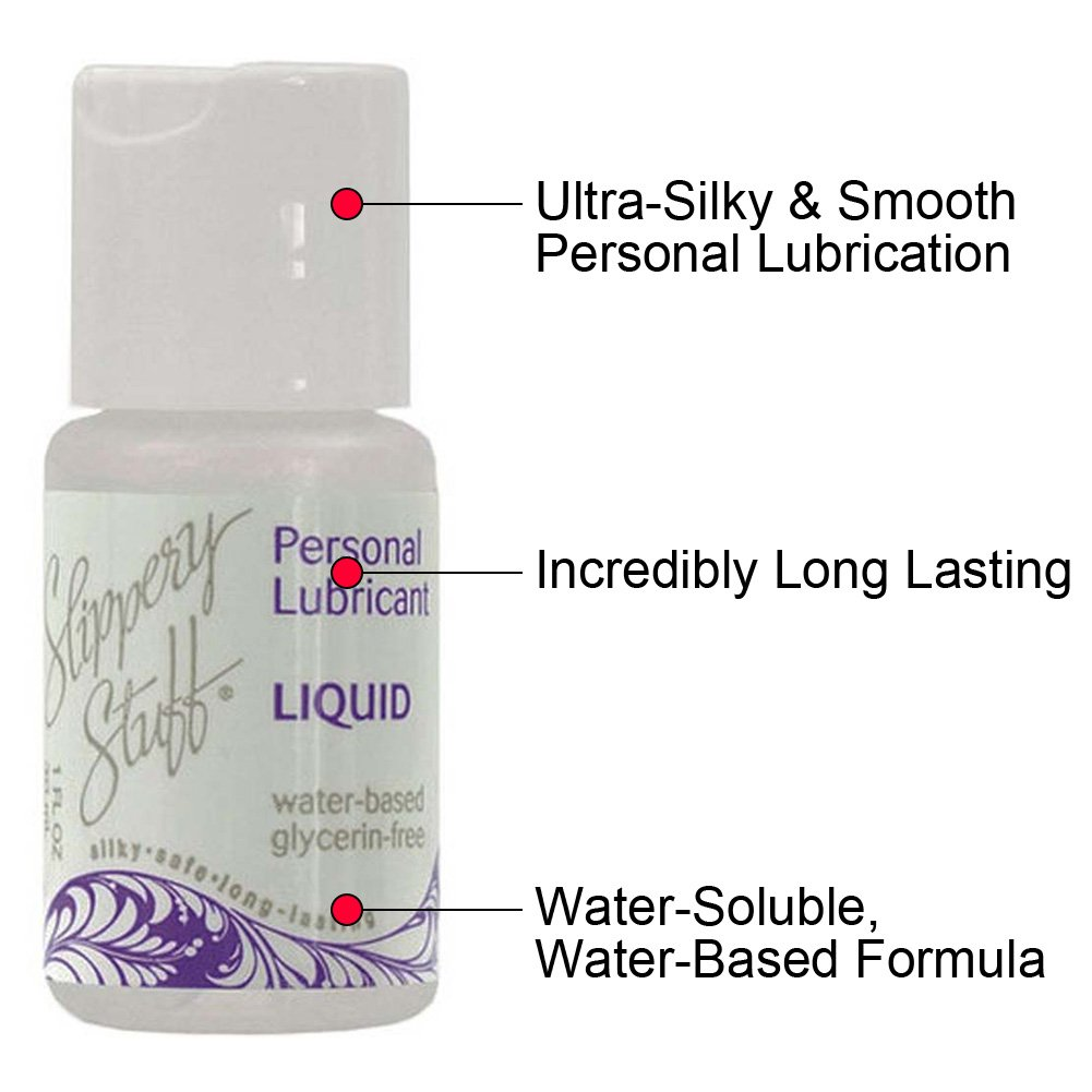 Slippery Stuff Liquid Water Based Personal Lubricant 1 Fl.Oz 30 mL - View #1
