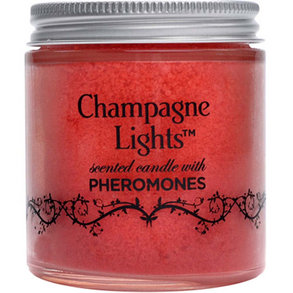 Champagne Light Scented Candles Cinnamon Apple - View #1