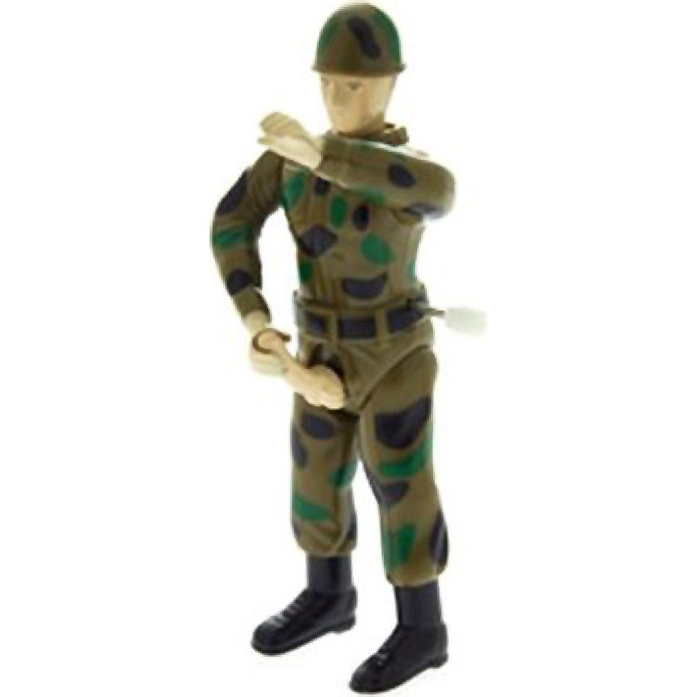 Pipedream Sergeant Stroker Jerkoff Soldier Wind Up Toy - View #2