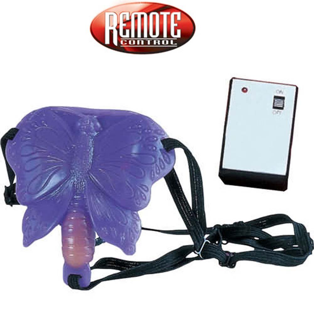 Remote Control Butterfly with Adjustable Straps - View #2