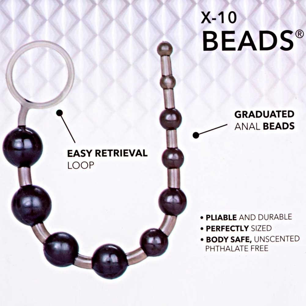 "X10 Jelly Beads 12"" Black - View #1"
