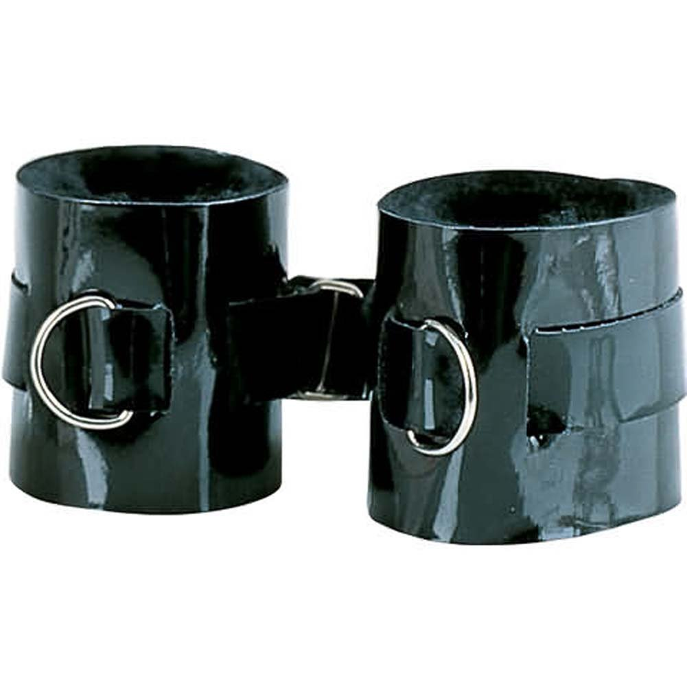 Ankle Cuffs Patent Leather Passion Restraints - View #2