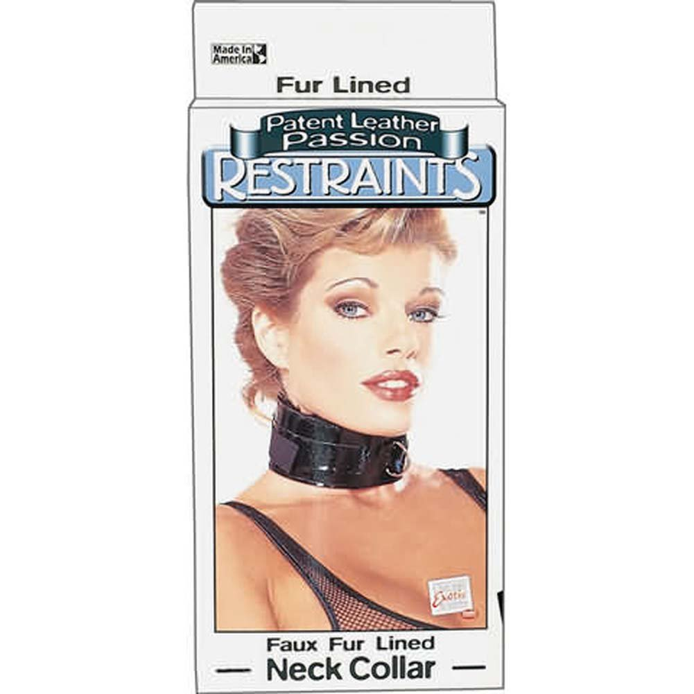 Neck Collar Patent Leather Passion Restraints - View #1