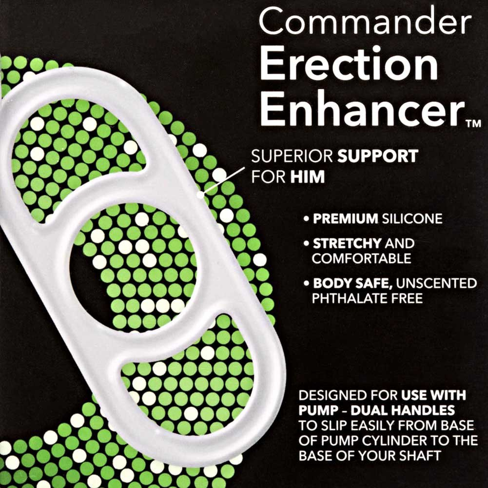 Penis Pump Commander Silicone Erection Enhancer - View #1