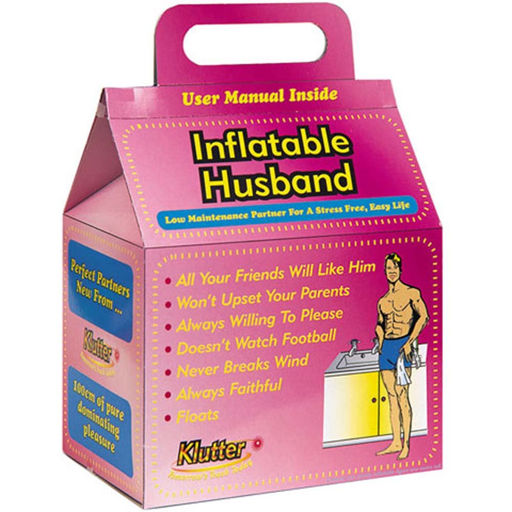 Inflatable Husband Love Doll - View #1