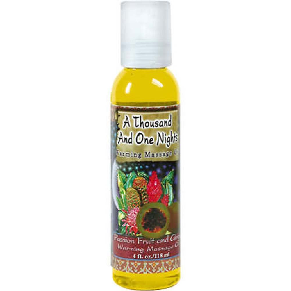 1001 Nights Massage Oil Passion Fruit and Ginger 4 Fl. Oz - View #2