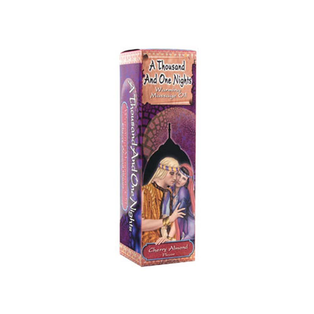 1001 Nights Massage Oil Cherry Almond 4 Fl. Oz. - View #1